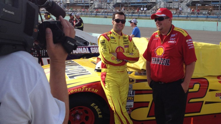 Sam Hornish Jr. (Credit: The Fast and the Fabulous)