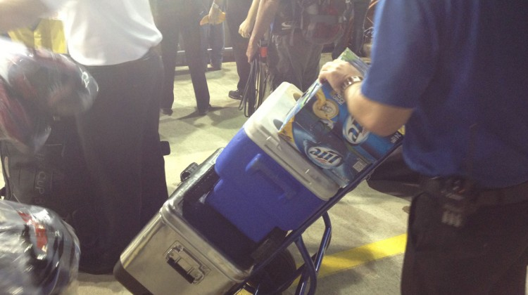 Miller Lite ready!! (Credit: The Fast and the Fabulous)