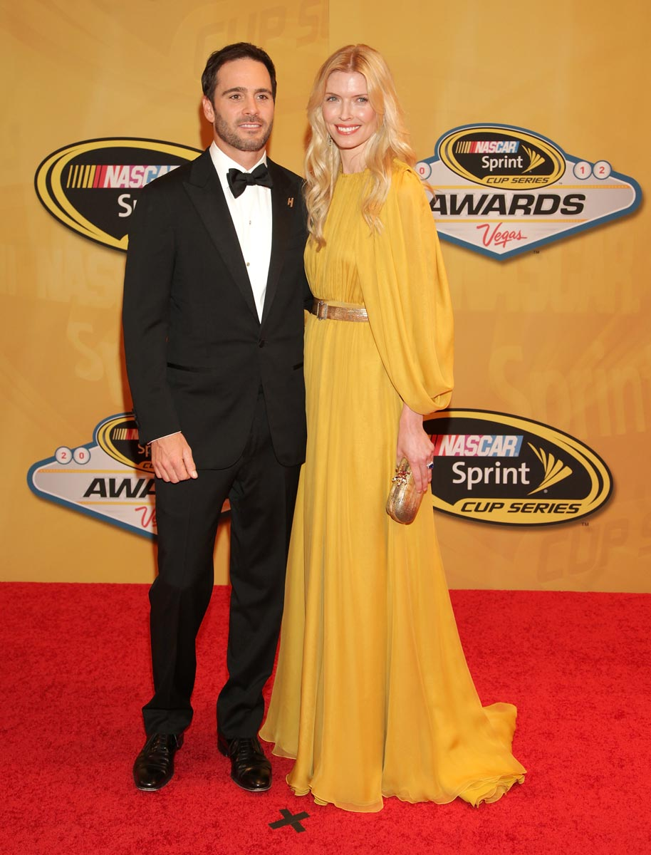 2012-Vegas-Red-Carpet-Jimmie-Johnson-With-Wife