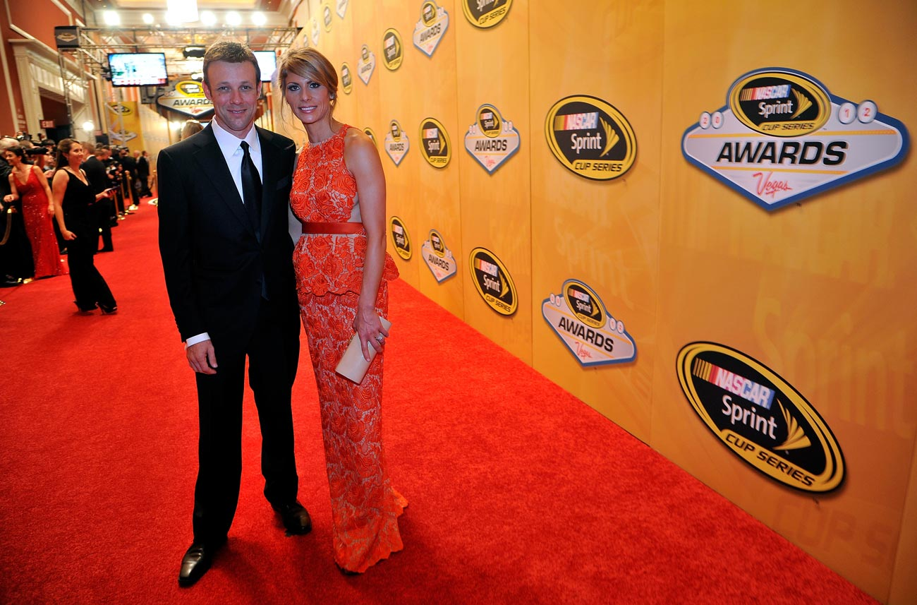 2012-Vegas-Red-Carpet-Matt-Kenseth-with-Wife