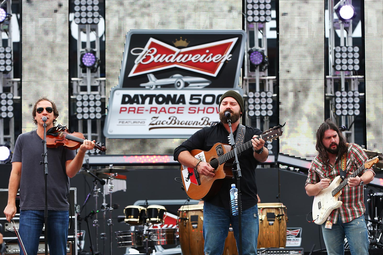 2013_NASCAR_Daytona_500_PreRace_Show_Zac_Brown_Band