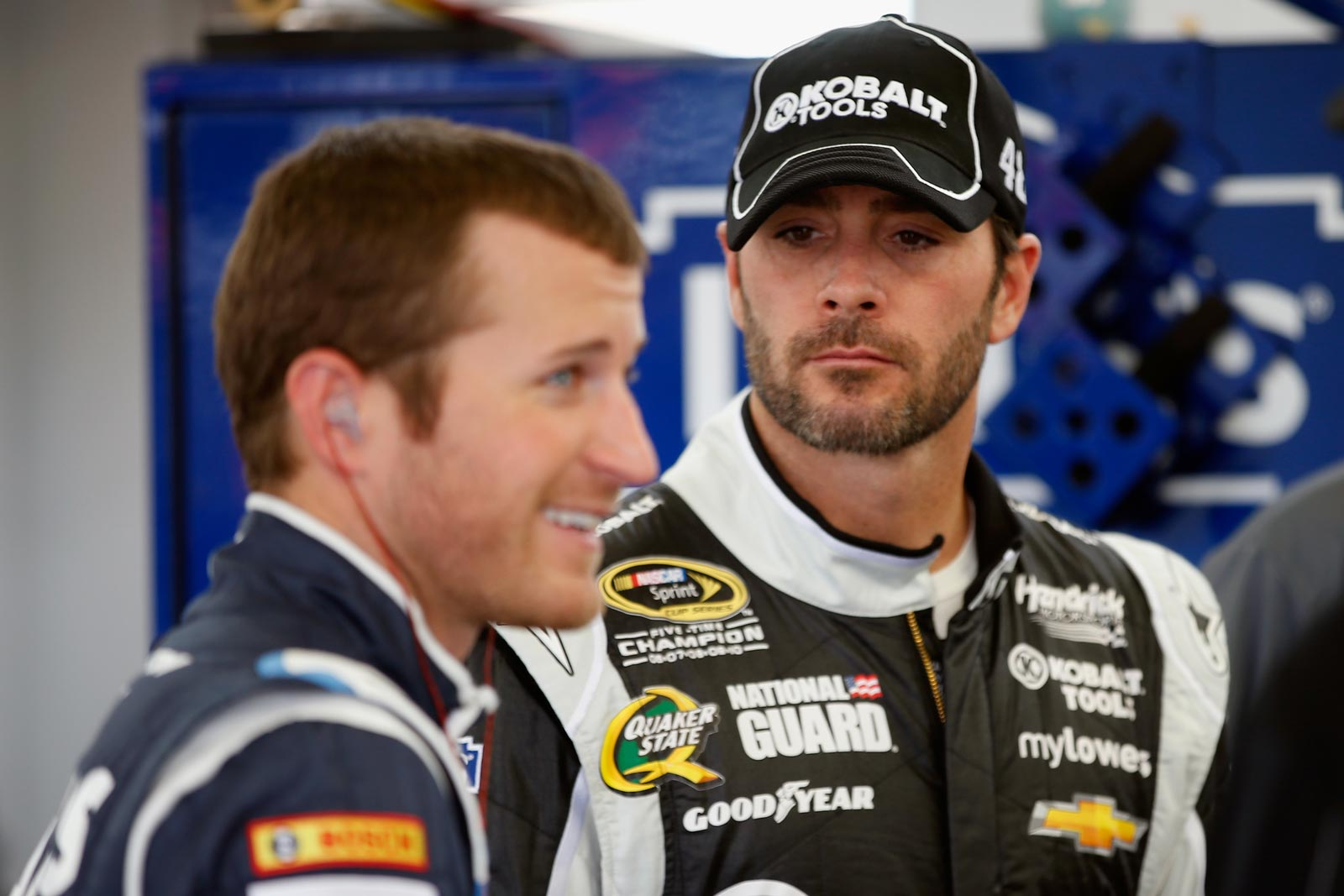 2013-Vegas-March-Jimmie-Johnson-Kasey-Kahne-Talk