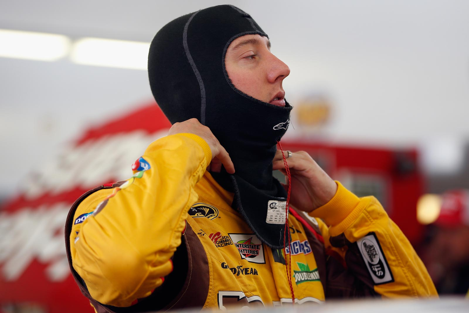 2013-Vegas-March-Kyle-Busch-Prepares-For-Testing
