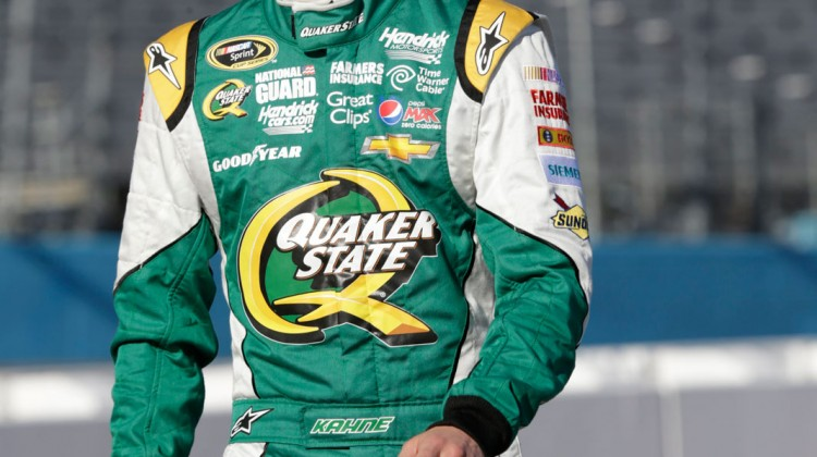 Kasey Kahne, driver of the NASCAR Sprint Cup #5 Quaker State Chevrolet SS Friday, March 1, 2013 at Phoenix International Raceway in Phoenix, Arizona. (Photo by Harold Hinson for Chevrolet)