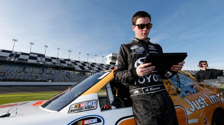 Alex Bowman (credit: TRD)