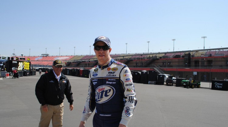 Brad Keselowski (Credit: Heather Baker / The Fast and the Fabulous)