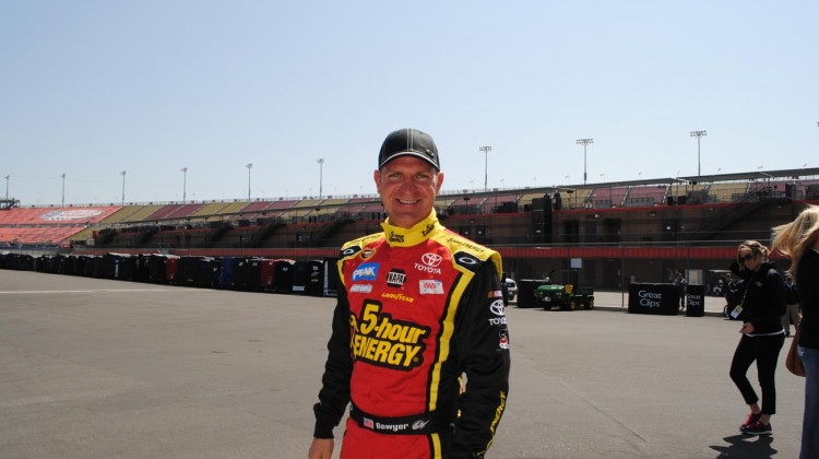 Clint Bowyer (Credit: Heather Baker / The Fast and the Fabulous)