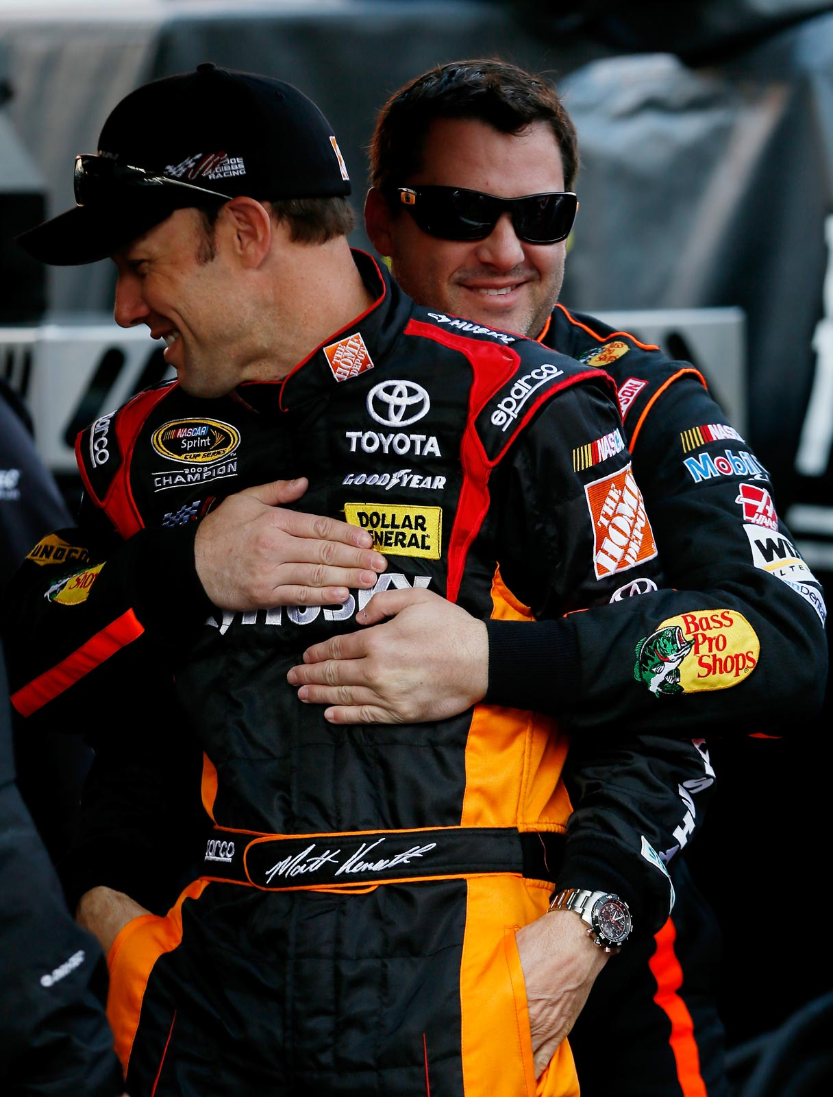 matt-kenseth-tony-stewart-bristol-march-2013