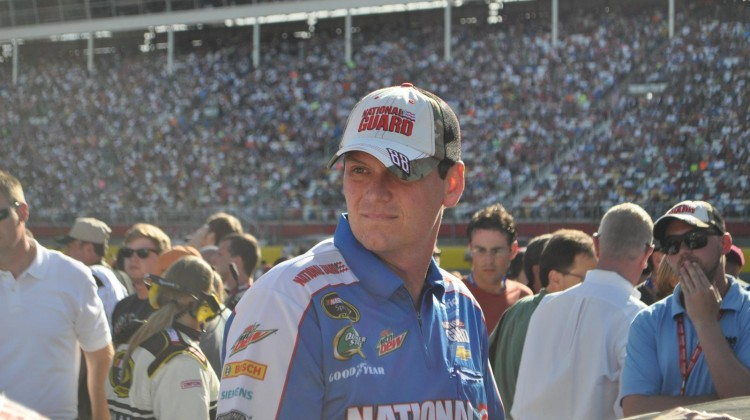Steve Letarte at the Coca Cola 600 (Credit: Sumer Purcell)