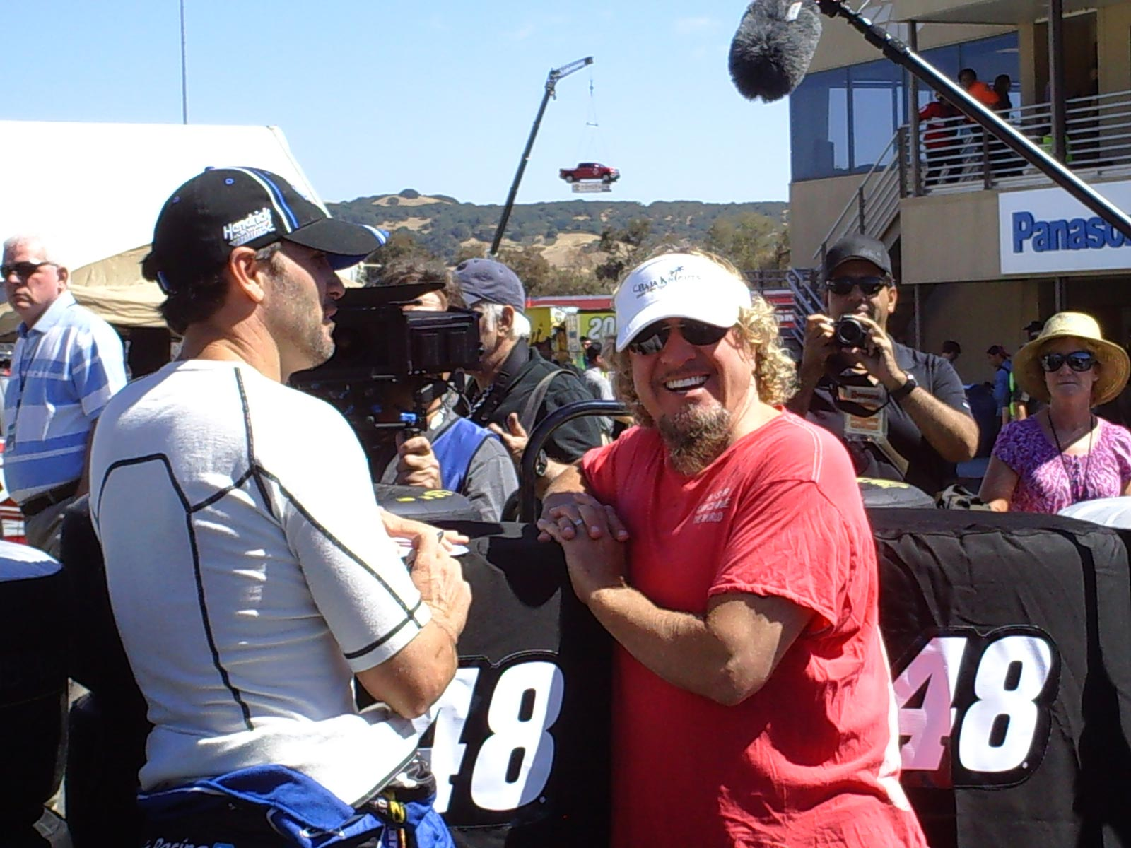sonoma-friday-jimmie-johnson-sammy-hagar