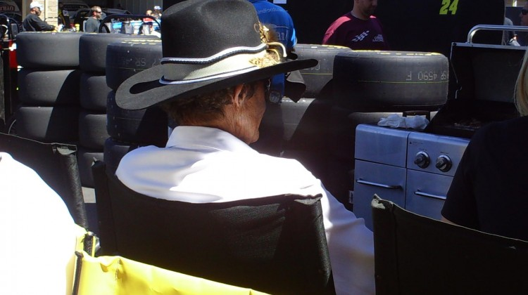 Richard Petty at Sonoma Raceway on Friday, June 21, 2013. (Credit: The Fast and the Fabulous)