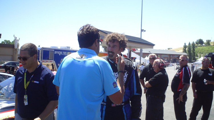 Boris Said and Michael Waltrip at Sonoma Raceway on June 22, 2013 (Credit: The Fast and the Fabulous)