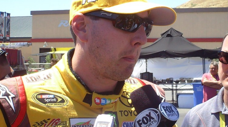 Kyle Busch at Sonoma Raceway on June 22, 2013 (Credit: The Fast and the Fabulous)