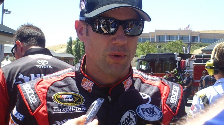 Matt Kenseth at Sonoma Raceway on June 22, 2013 (Credit: The Fast and the Fabulous)