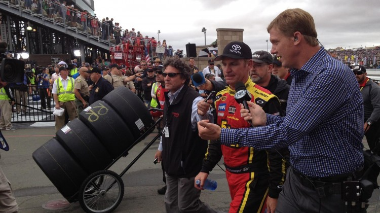 Clint Bowyer at Sonoma Raceway on Sunday, July 23, 2013. (photo credit: The Fast and the Fabulous)