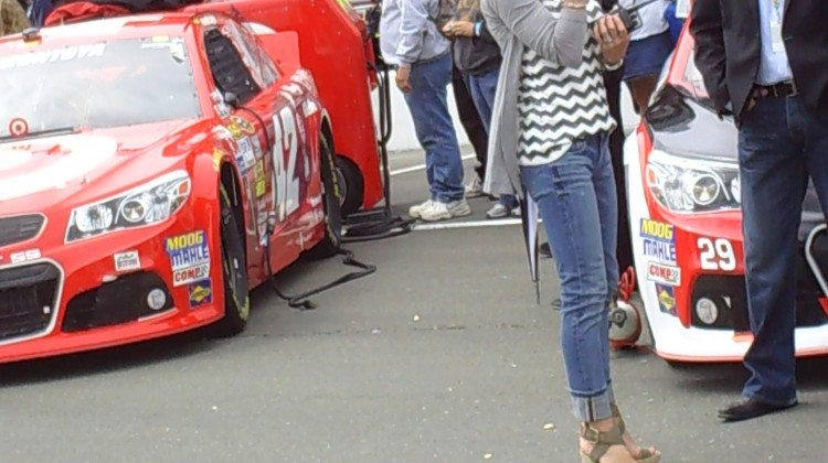 Nicole Biffle at Sonoma Raceway on Sunday, July 23, 2013. (photo credit: The Fast and the Fabulous)