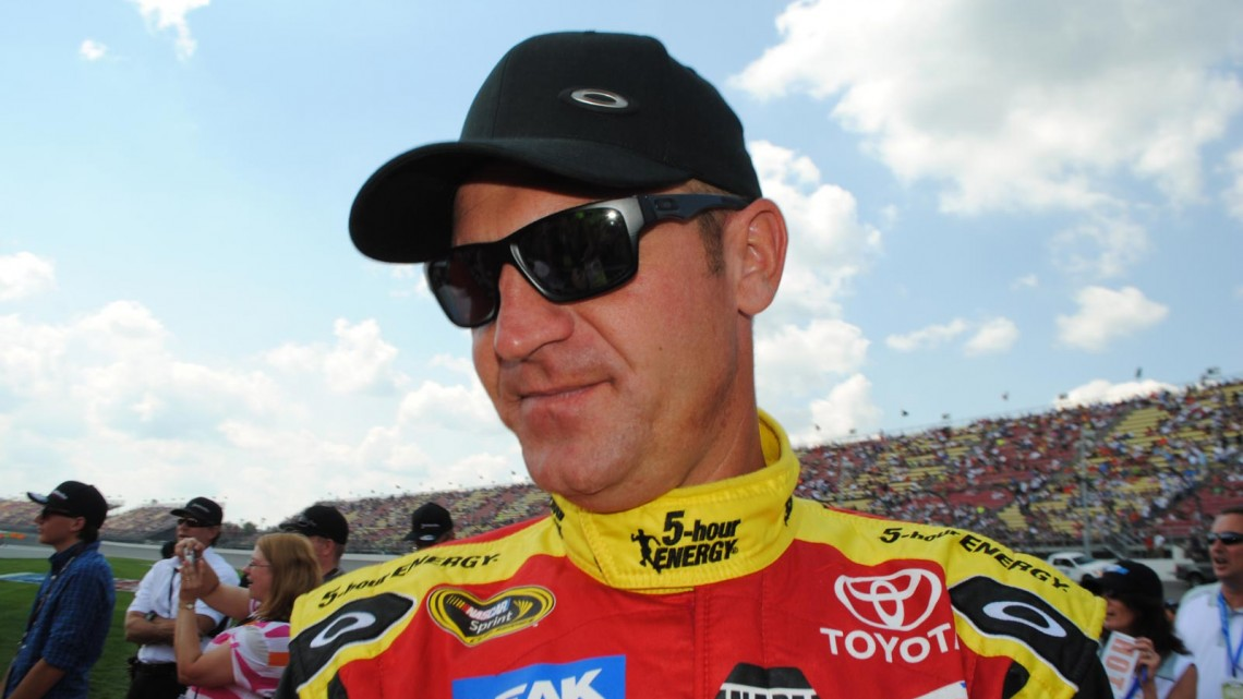 Clint Bowyer at Michigan International Speedway in Brookyln, MI (Credit: Heather Baker for The Fast and the Fabulous)