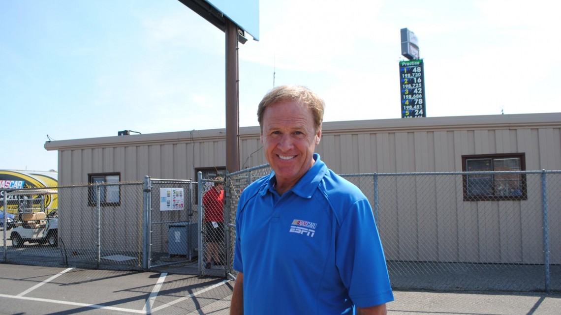 Rusty Wallace at Michigan International Speedway in Brookyln, MI (Credit: Heather Baker for The Fast and the Fabulous)