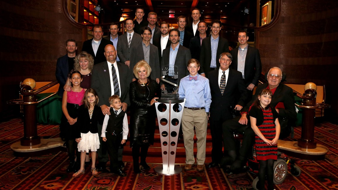 Betty Jane France Humanitarian Award - Reception, at the Wynn Las Vegas on December 4, 2013 in Las Vegas, Nevada. (Credit: NASCAR via Getty Images)