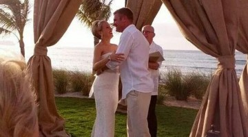 Clint bowyer wedding ceremony