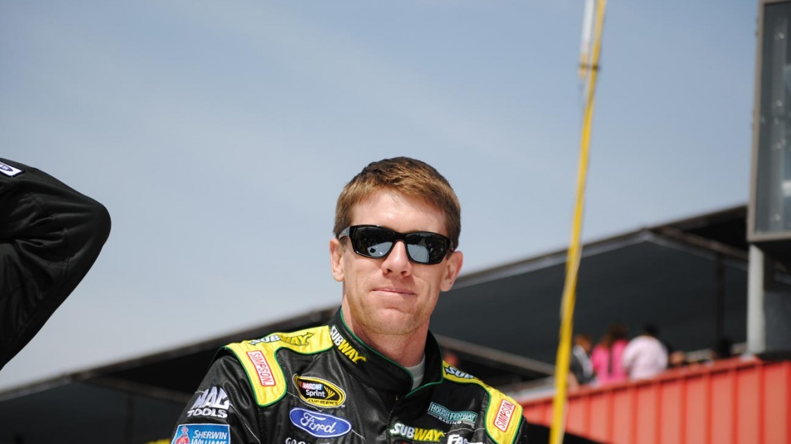 Carl Edwards  (Photo Credit: Heather Baker/The Fast and the Fabulous)