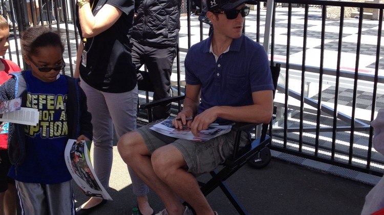 Kasey Kahne at Sonoma Raceway on Saturday, June 21, 2014. (photo credit: The Fast and the Fabulous)