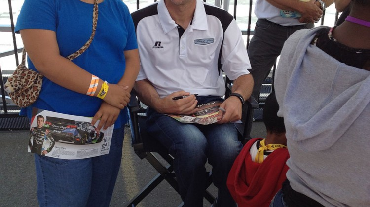 Kevin Harvick at Sonoma Raceway on Saturday, June 21, 2014. (photo credit: The Fast and the Fabulous)