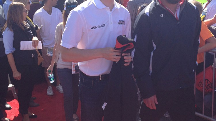 Brad Keselowski at Sonoma Raceway on June 22, 2014. (photo credit: The Fast and the Fabulous)