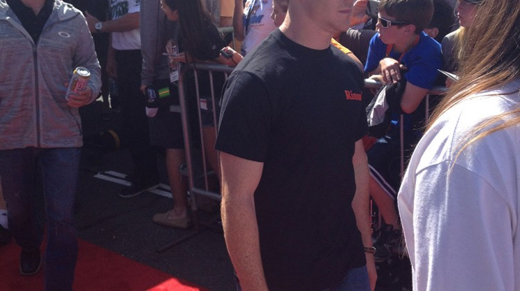 Cole Whitt at Sonoma Raceway on June 22, 2014. (photo credit: The Fast and the Fabulous)