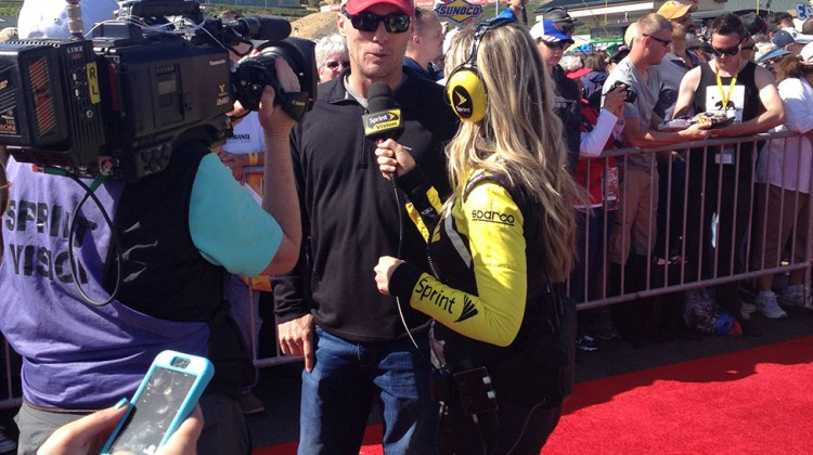 Kevin Harvick at Sonoma Raceway on June 22, 2014. (photo credit: The Fast and the Fabulous)