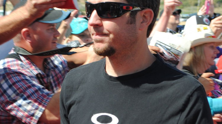 Martin Truex Jr. at Sonoma Raceway on June 22, 2014. (photo credit: Heather Baker/The Fast and the Fabulous)