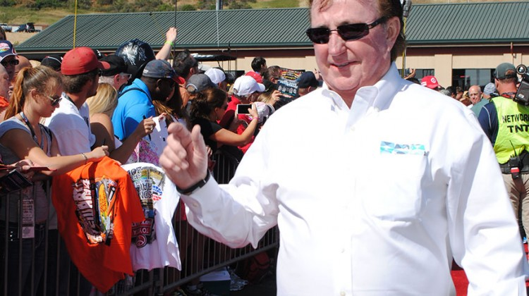 Richard Childress at Sonoma Raceway on June 22, 2014. (photo credit: Heather Baker/The Fast and the Fabulous)