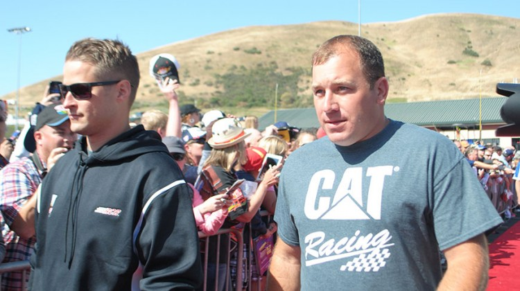 Ryan Newman at Sonoma Raceway on June 22, 2014. (photo credit: Heather Baker/The Fast and the Fabulous)