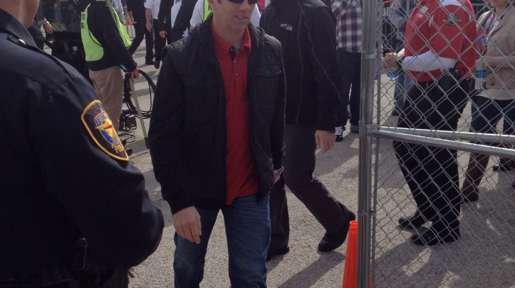 Greg Biffle at Texas Motor Speedway. (photo credit: The Fast and the Fabulous)