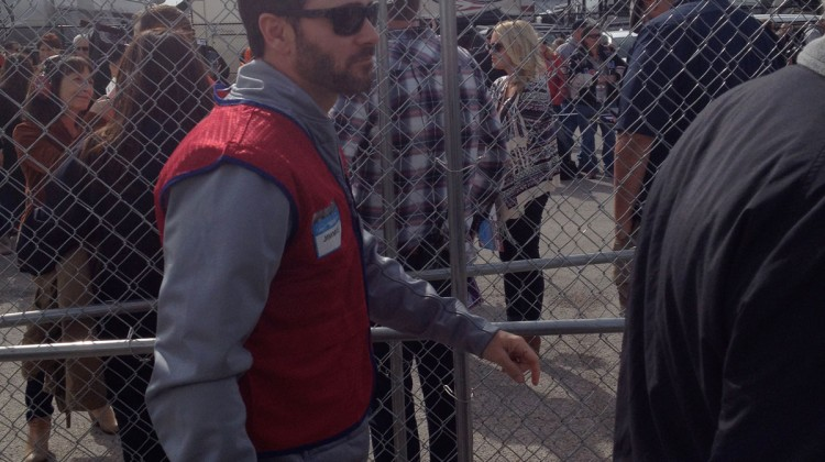 Jimmie Johnson at Texas Motor Speedway. (photo credit: The Fast and the Fabulous)