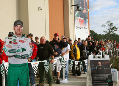 The big line outside of the Sports Authority in Daytona