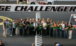 Mothers of NASCAR Sprint Cup Series drivers give the command to start engines before the Dodge Challenger 500 at Darlington Raceway (Photo Credit: Chris Trotman/Getty Images for NASCAR)