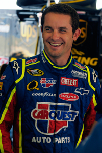 No. 5 CARQUEST/Kellogg's Chevrolet, earned his first top-five finish at Infineon Raceway on Sunday. Mears started 23rd. (Courtesy Hendrick Motorsports)