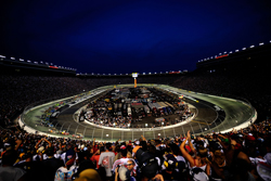 Approximately 160,000 fans packed Bristol Motor Speedway for the track's 30th night race. It was the 53th consecutive sellout at the track. (Photo Credit: Rusty Jarrett/Getty Images for NASCAR)