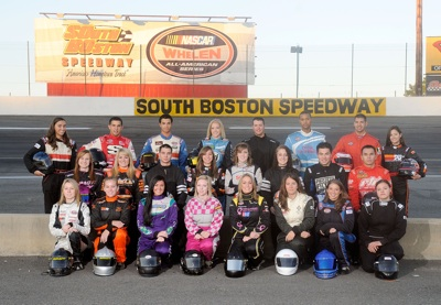 Twenty-five minority and female drivers from across the country participated in the Drive for Diversity Combine presented by Sunoco at South Boston Speedway. Ten drivers will earn rides in the NASCAR Whelen All-American Series and four will earn positions in the NASCAR Camping World Series. (Photo Credit: Grant Halverson/Getty Images for NASCAR)