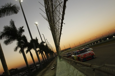 Jeff Gordon, driver of the No. 24 DuPont Chevrolet, started 37th and finished fourth during Sundays season finale at Homestead-Miami Speedway. (Courtesy Hendrick Motorsports)