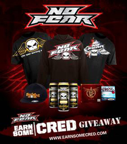 No Fear | Earn Some Cred Giveaway