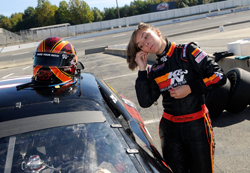 Caitlin Shaw at the 2008 Drive For Diversity Combine (photo credit: NASCAR)