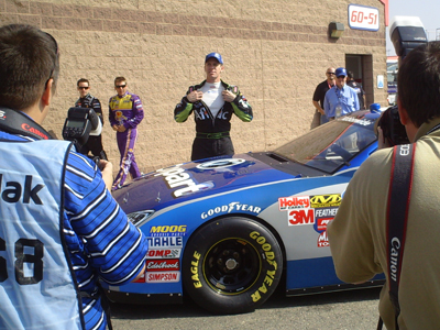 Carl Edwards unveils his Copart sponsorship for 16 races in next year's Nationwide Series (photo credit: The Fast and the Fabulous)