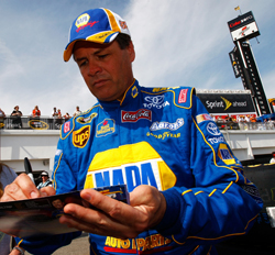 Michael Waltrip (credit: Getty Images for NASCAR)