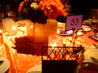 2009 NASCAR Sprint Cup Awards Ceremony table centerpiece