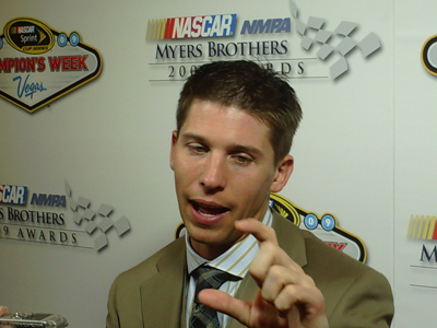 Denny Hamlin (photo credit: The Fast and the Fabulous)