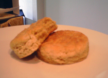 Junior Johnson Brand Foods Sweet Potato Biscuits (photo credit: The Fast and the Fabulous)