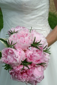 Wedding Bouquet from Paulas Flowers of Old Basing (Flickr photo by Christopher_Hawkens)