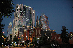 Charlotte, NC - photo by dawngrif/flickr